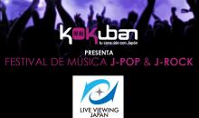 Festival de J-pop y J-rock en Mexico traído por Kokuban y LVJ