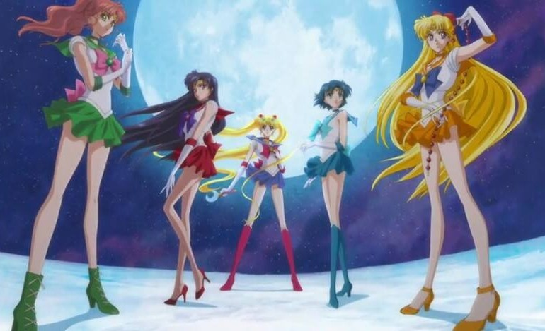 Sailor Moon Crystal scouts