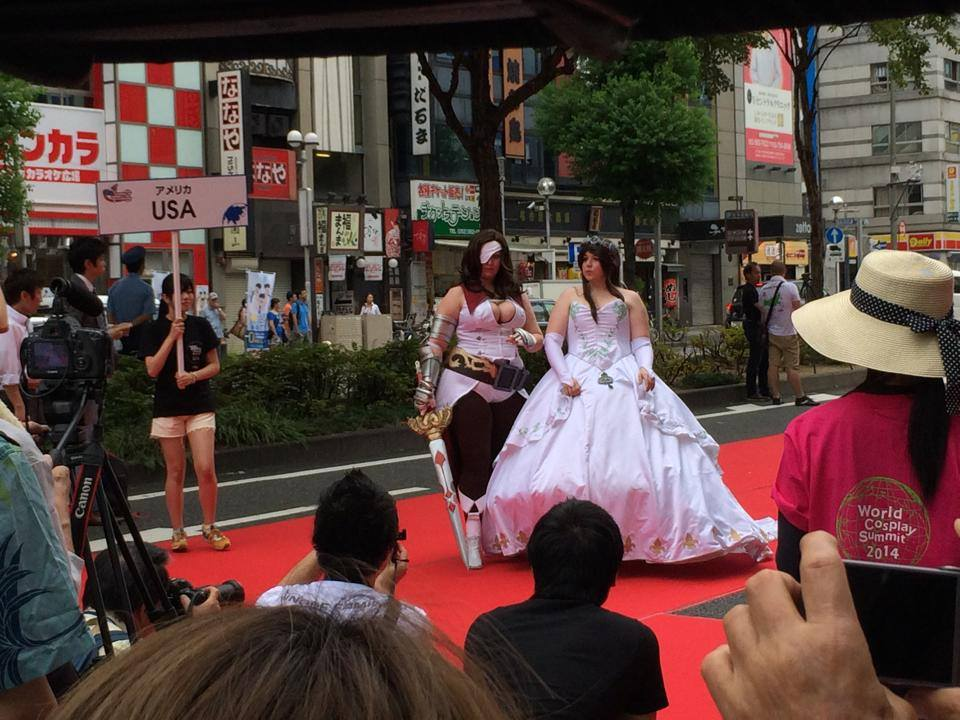 World Cosplay Summit 2014  Alfombra roja  WCS2014  ce3419ca8215