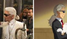 Go! Princess PreCure muestra un cameo del diseñador Karl Lagerfeld