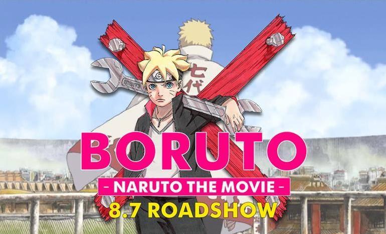 Boruto - Naruto the Movie - estreno
