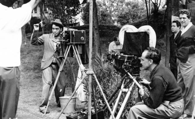 Cantinflas en el Masayoshi Ohira. Cortesía: Fundación Televisa