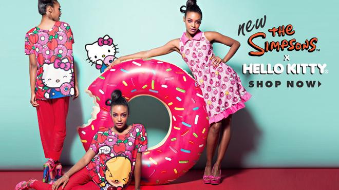 Hello Kitty x The Simpsons