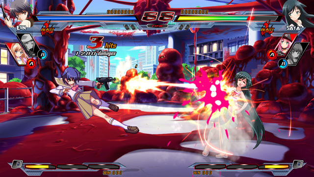Nitroplus Blasterz- Heroines Infinite Duel 1