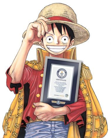 One piece Récord Guinness