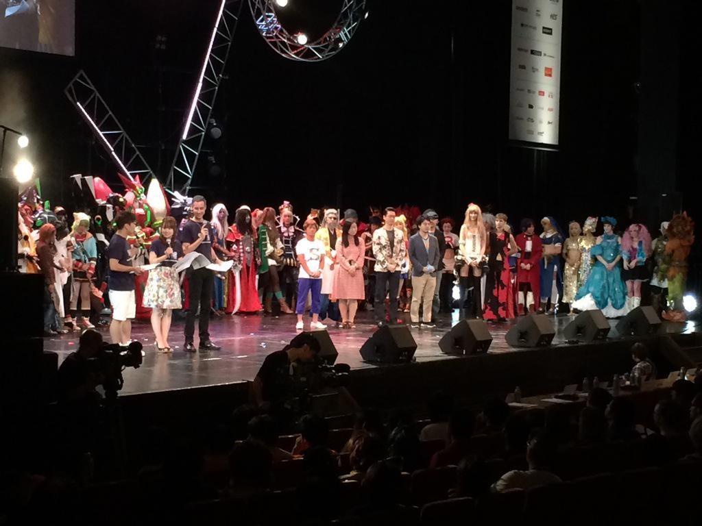 Ceremonia de Premiación WCS 2015