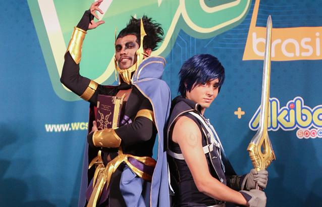 Daysuke (Izquierda) y Nando Gray (Derecha)