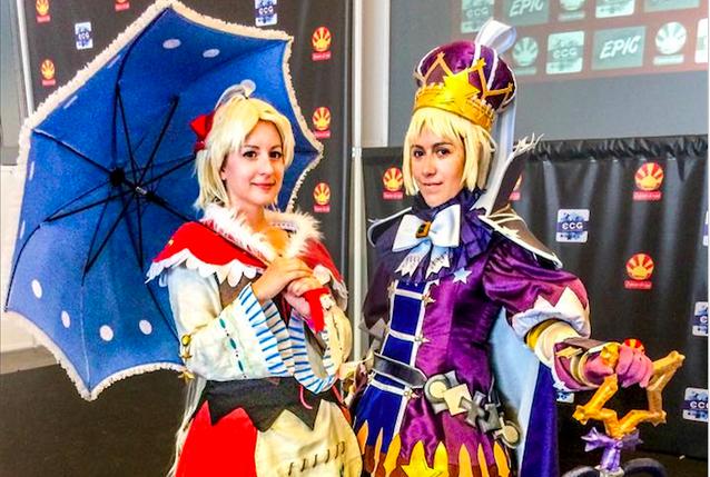 Chibi Juice (Izquierda) y Lynah (Derecha)