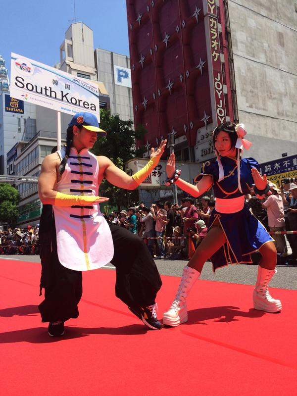 World Cosplay Summit 2015  Alfombra Roja  WCS2015  aafb1e666f01