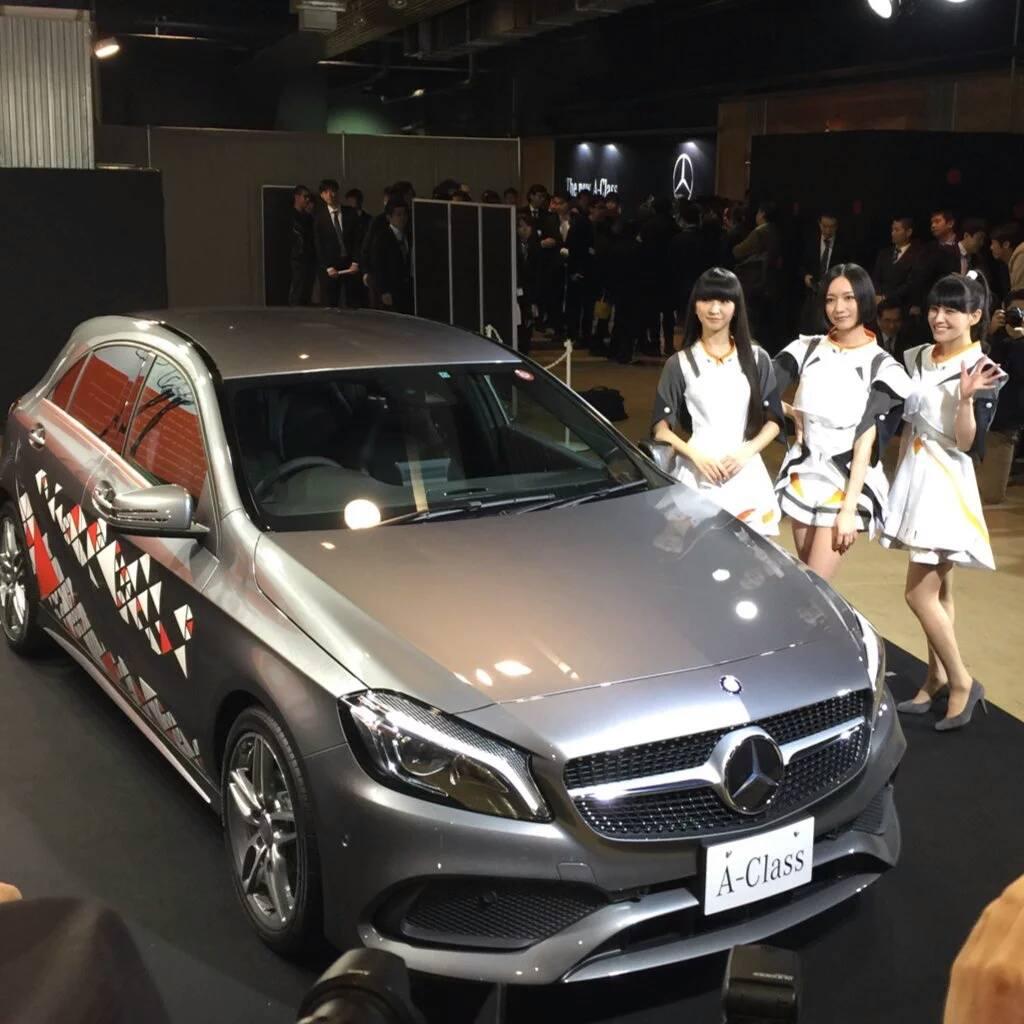 Mercedes Benz X Perfume 5