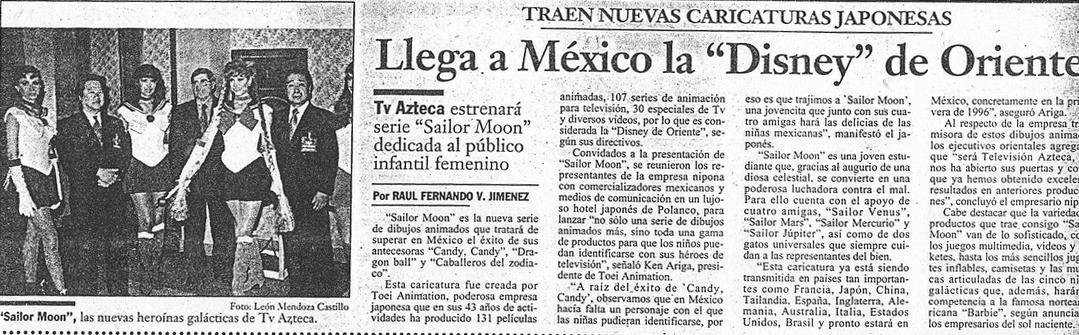 Sailor Moon llega a México