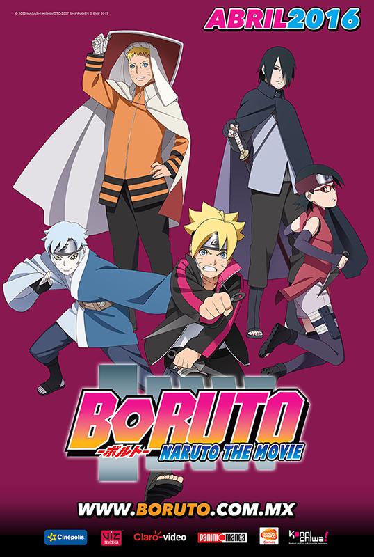 Poster boruto México