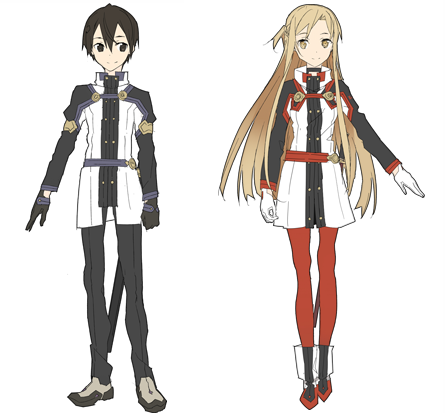 Sword Art Online- Ordinal Scale