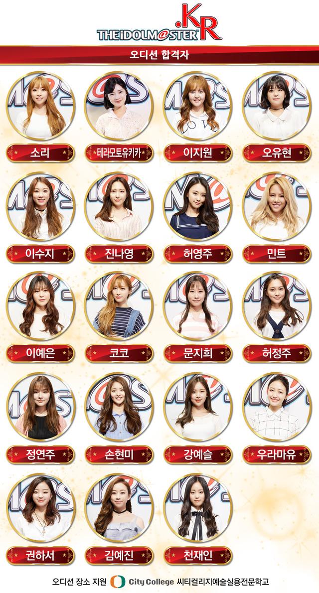 IdolmasterKr-LiveAction-Finalists