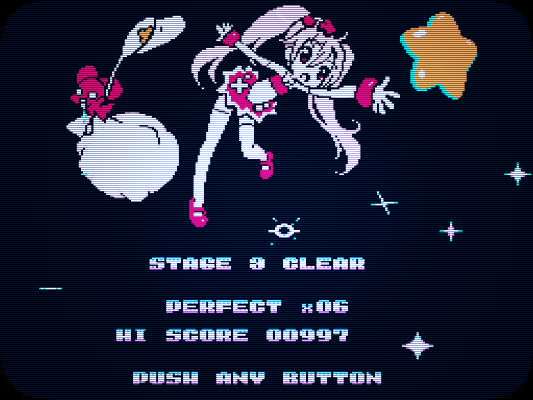 Screen STAGE CLEAR