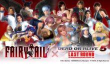 Dead or Alive 5 Last Round colaborará con Fairy Tail
