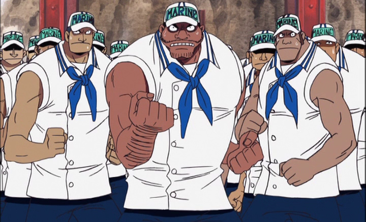 anime marines one piece
