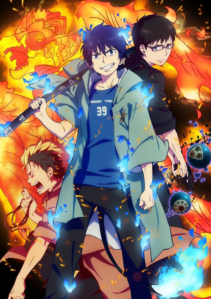 Ao no exorcist 2017 key visual
