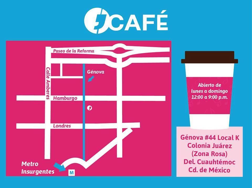 Mapa J'Café Umami