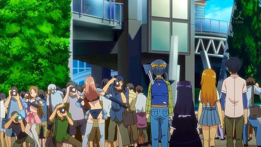 otaku en convencion