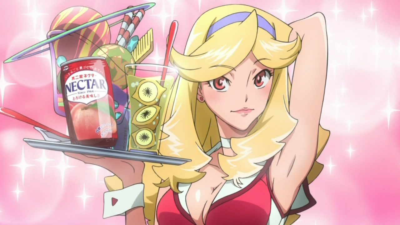 space dandy girl