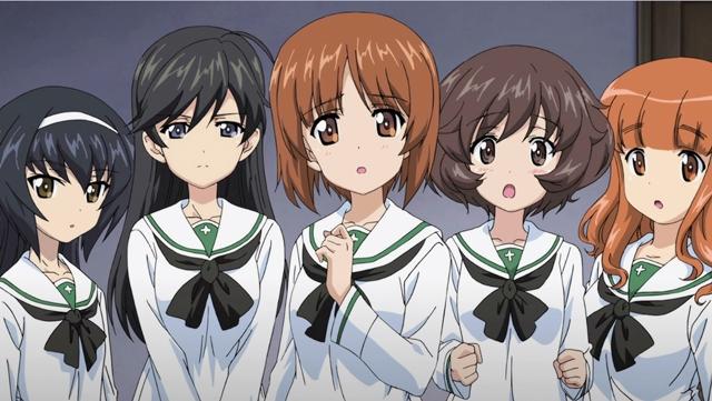 Girls und Panzer- Saishushou 2