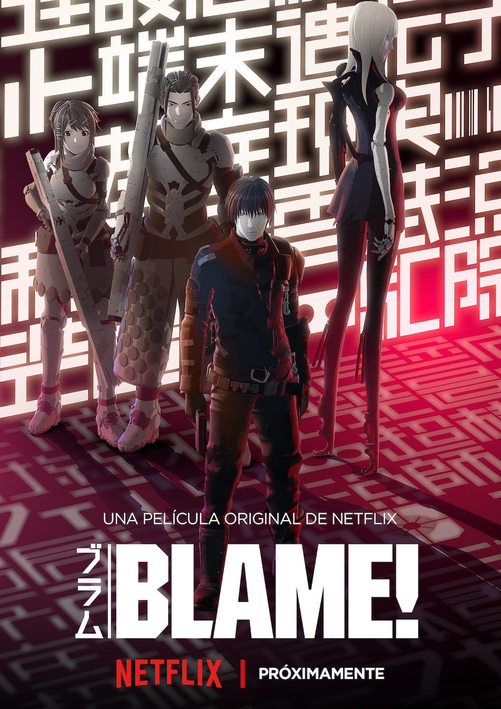 blame original anime netflix