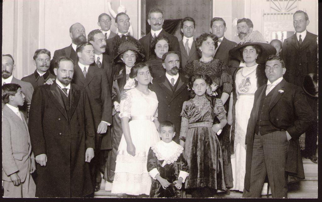 Familia de Francisco I. Madero y Kumaichi Horiguchi