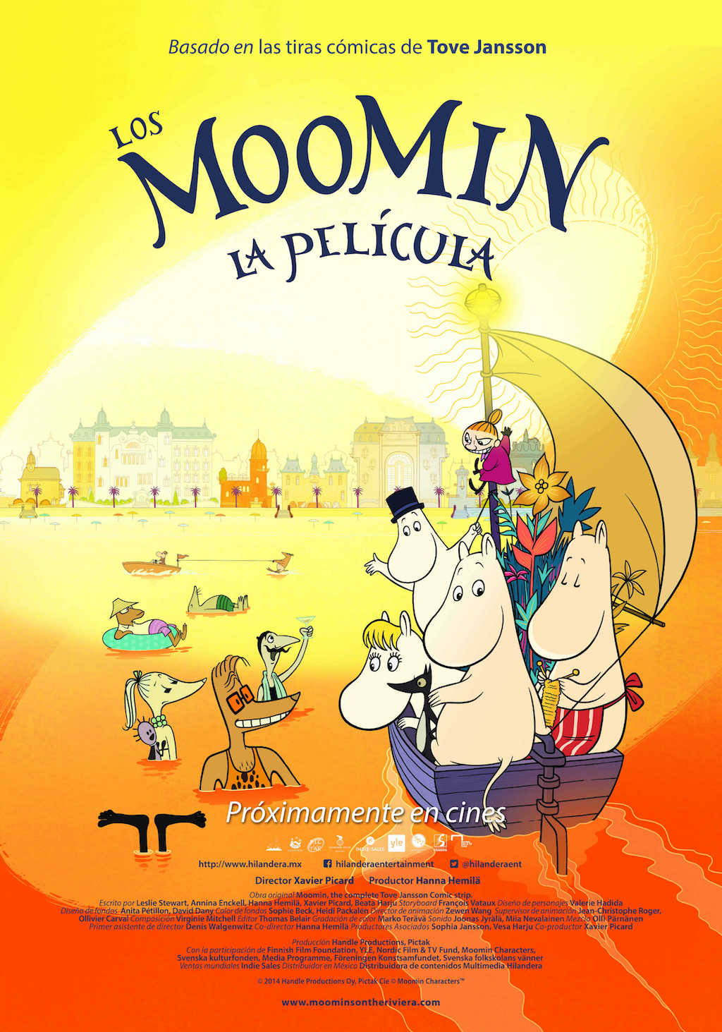 Moomin en Mexico
