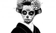 Geishas y Catrinas: Concurso de pintura, dibujo e ilustración