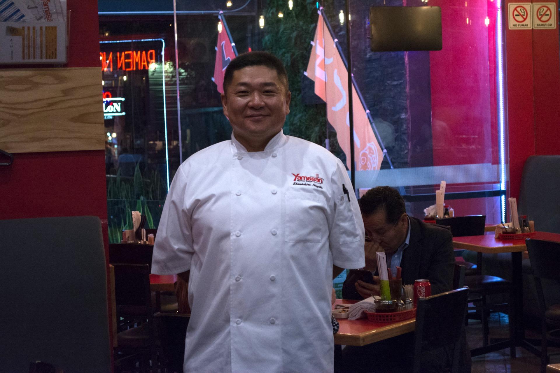 Chef Shinichiro Nagata
