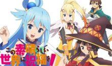 Konosuba tendrá un nuevo proyecto animado